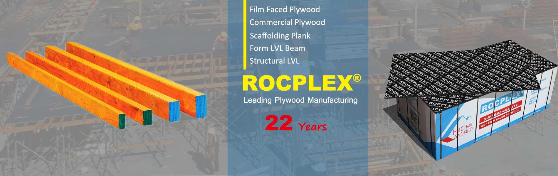 ROCPLEX film faced